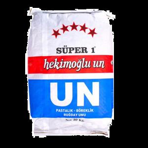 Hekimoğlu Un Süper 1 Pastalık Böreklik Buğday Unu 10 kg