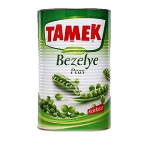 Tamek Konserve Bezelye 5kg
